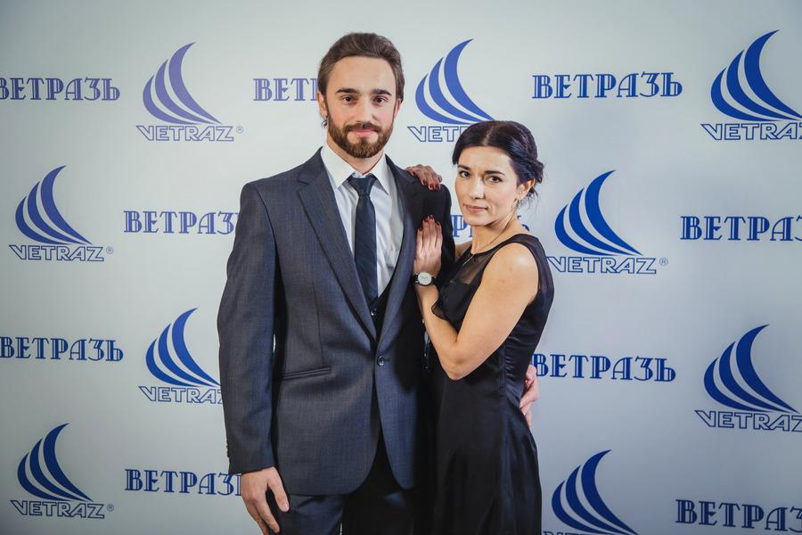 Фотозона на корпоратив «ВЕТРАЗЬ»