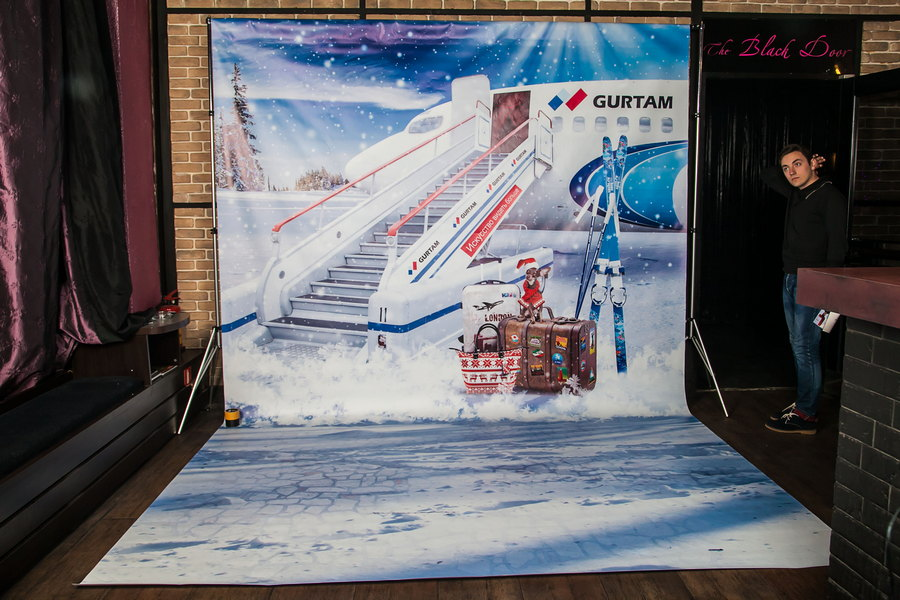 Фотозона на корпоратив «GURTAM»